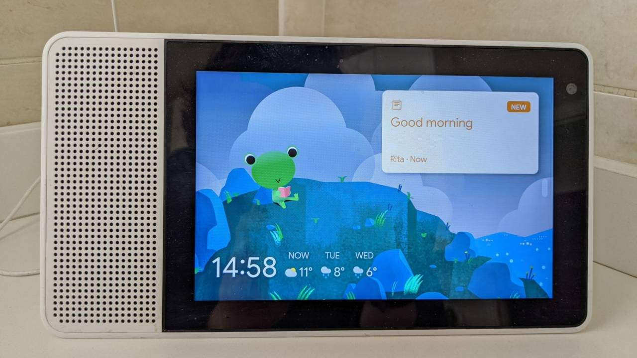 Nest Hub Sunrise alarm, Weather Frog, Family Sticky Notes arrive