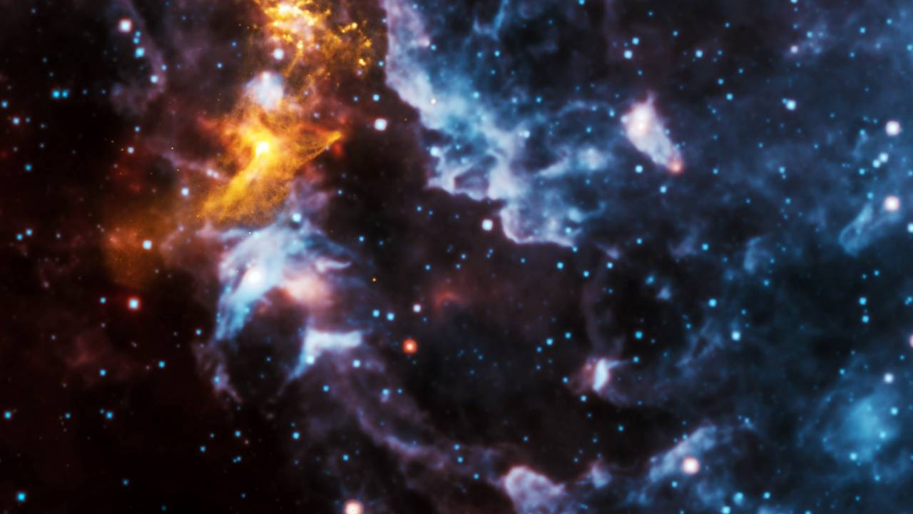 NASA's latest image of the day shows a 'hungry goblin' in space