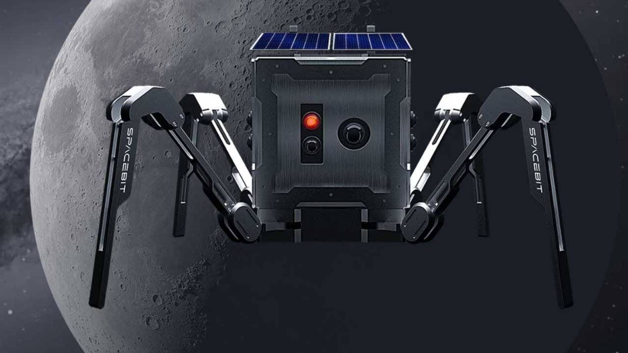 UK company Spacebit is sending a spider-like rover to the moon