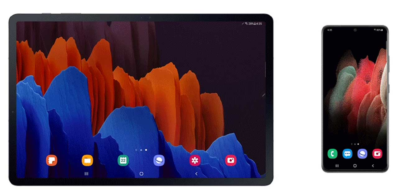 Samsung One UI 3 update brings Galaxy Tab S7 and S7+ users a more streamlined experience
