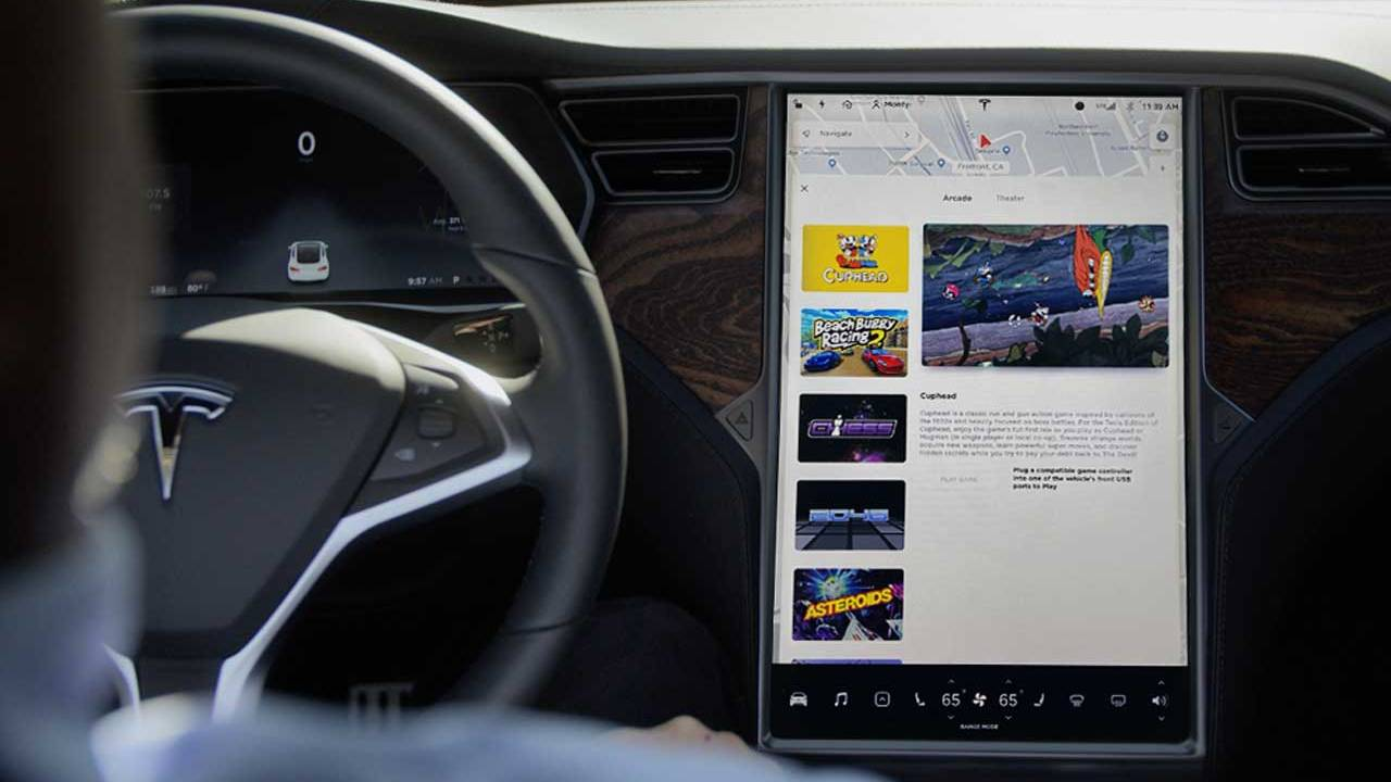 Tesla has slashed the price of its infotainment system update