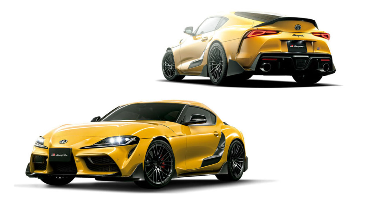 Toyota shows off 2021 Tokyo Auto Salon cars