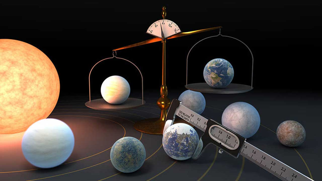 NASA says the seven TRAPPIST-1 rocky planets are likely made from the same material