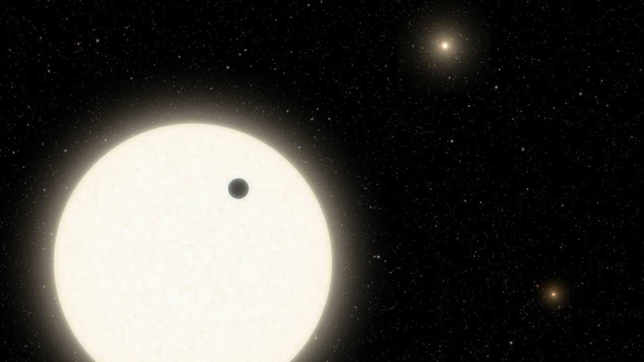 Triple star system discovered in NASA Kepler data