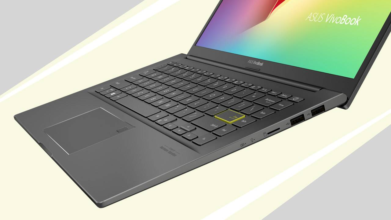 VivoBook S14 (S435) is the Intel Evo notebook with the yellow key