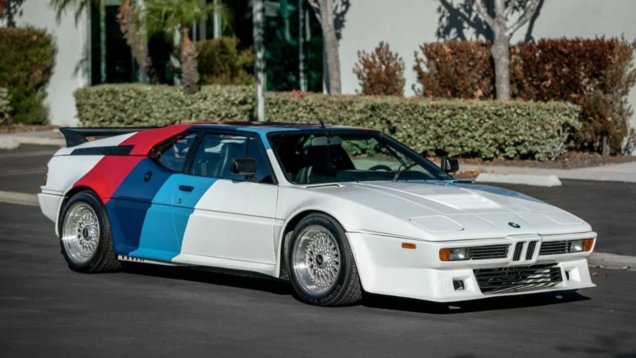 Paul Walker's beautiful 1980 BMW M1 AHG heads to auction