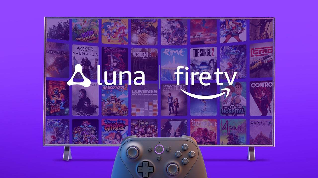Amazon Luna game streaming lands on Fire TV, no invite needed