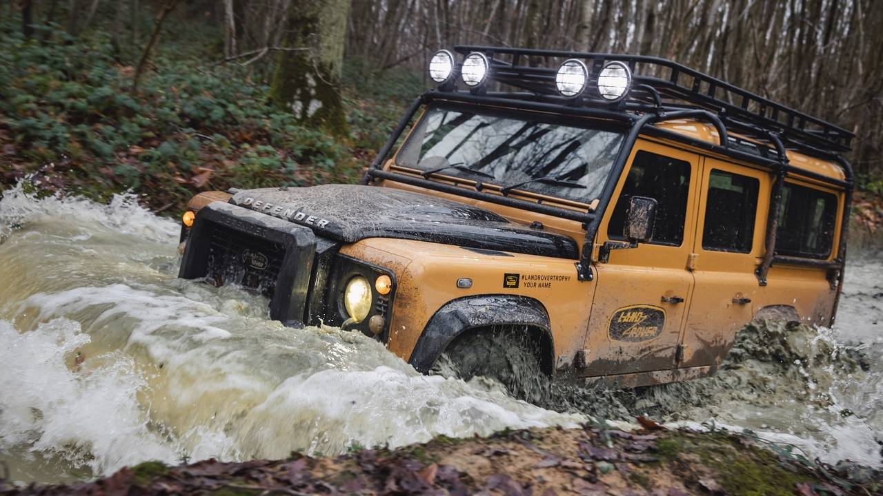 Land Rover Classic Defender Works V8 Trophy is limited to 25 units worldwide