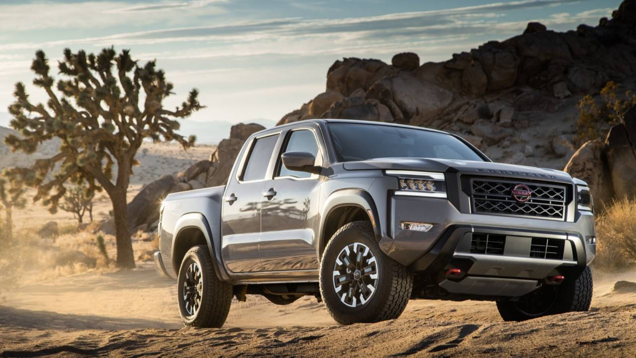2022 Nissan Frontier pickup finally packs some decent tech