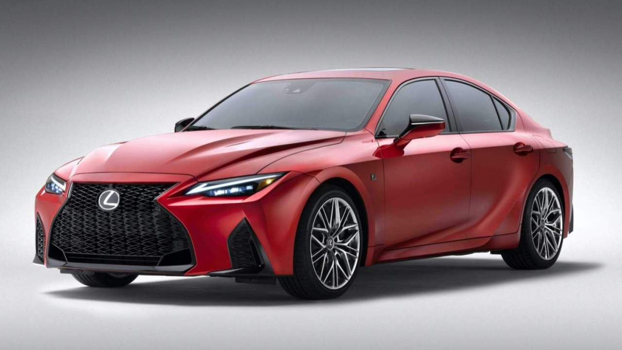2022 Lexus IS 500 F SPORT Performance makes a 472hp play for V8 purists