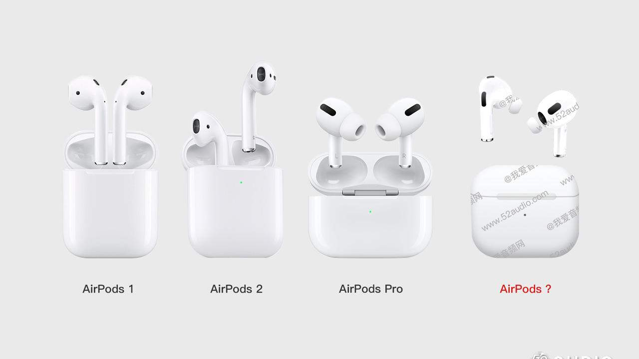 AirPods 3 leak shows important design changes
