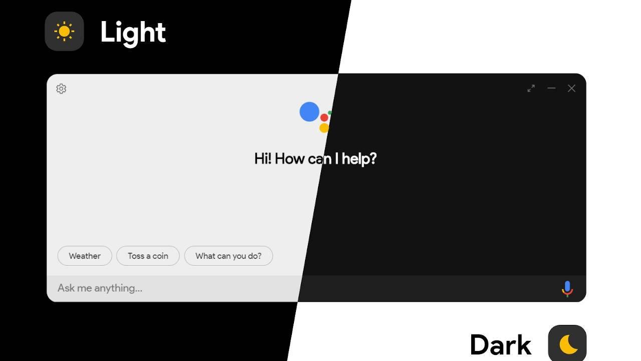 Google Assistant unofficial desktop client released for the adventurous