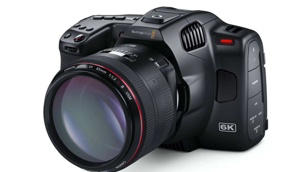 Blackmagic Pocket Cinema Camera 6K Pro adds ND filters, ports and a punchier screen