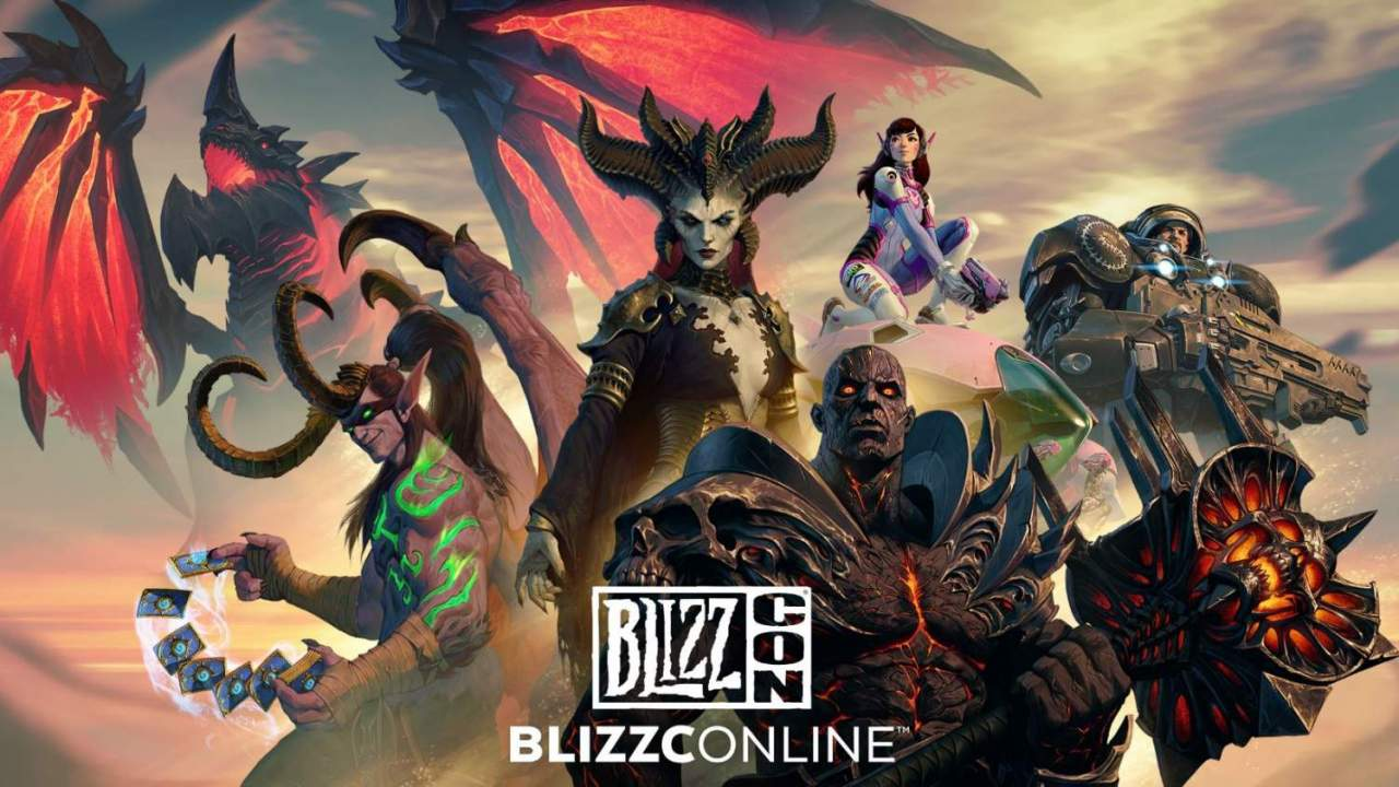 How to watch BlizzConline's opening ceremony and game panels