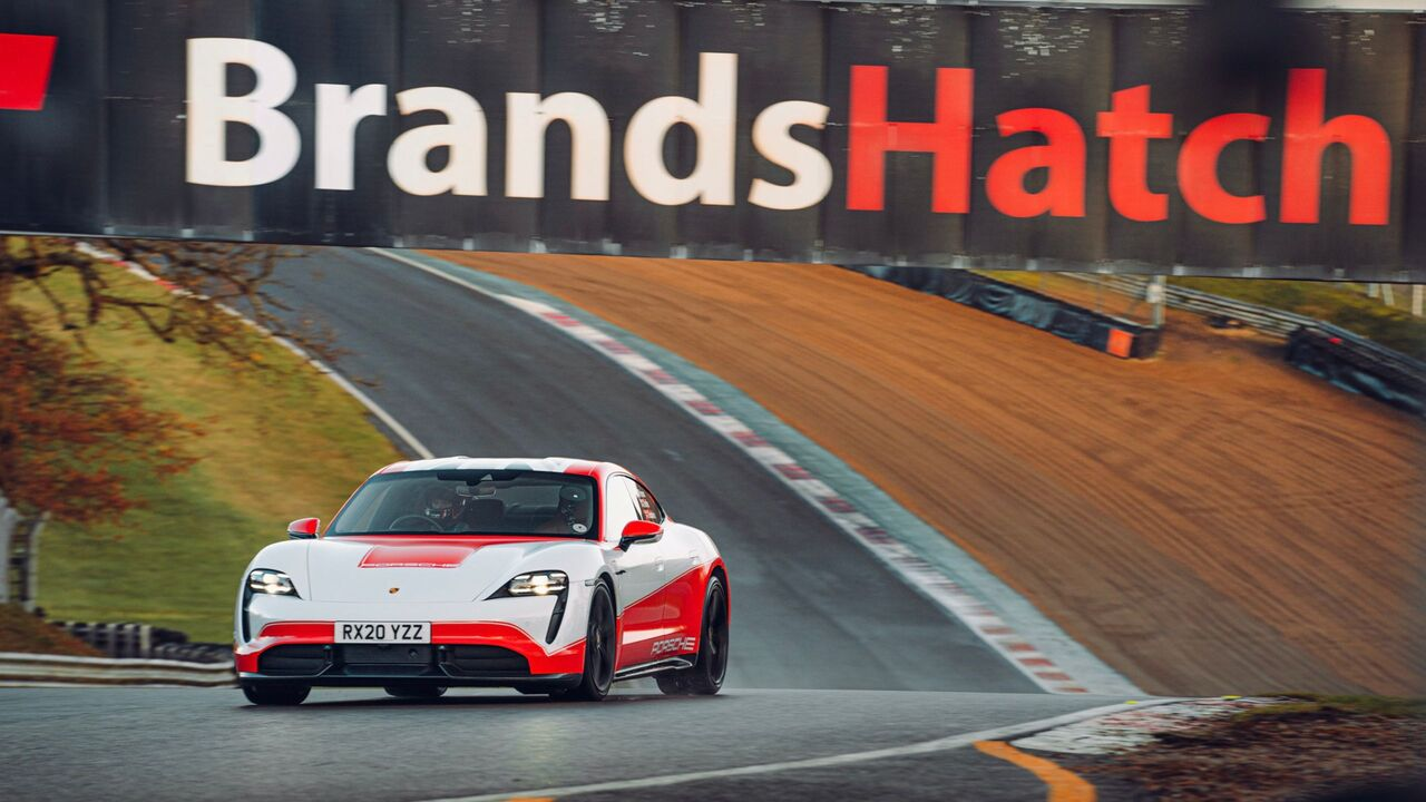 The Porsche Taycan can't stop breaking records