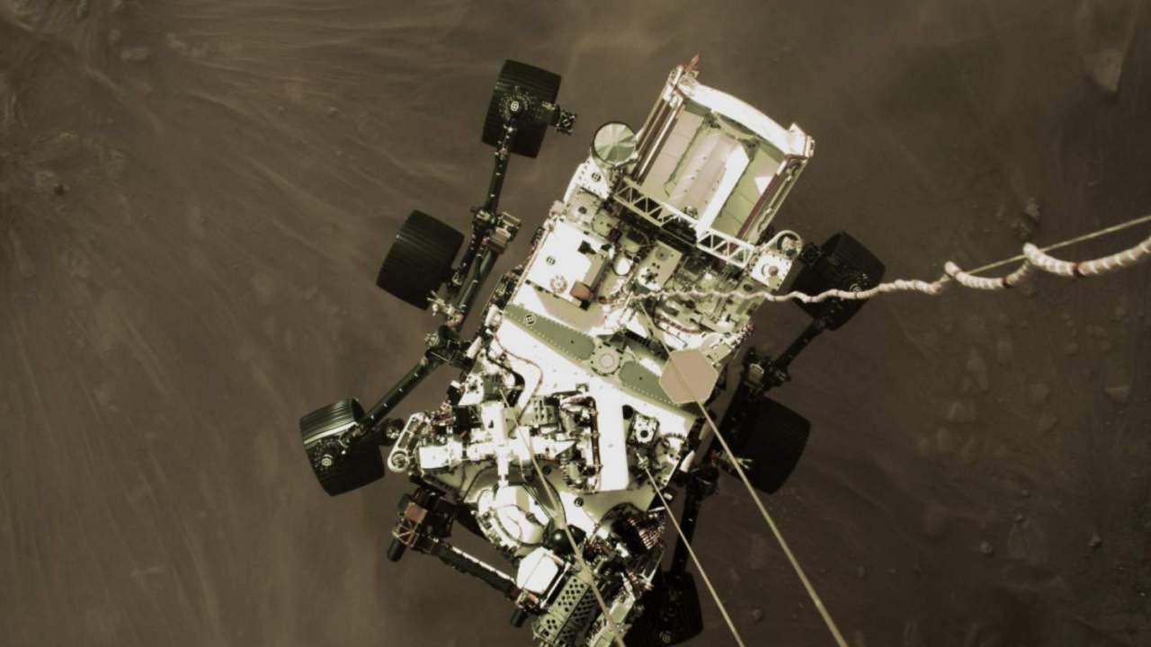 Epic new photos show NASA Perseverance rover during its wild Mars landing