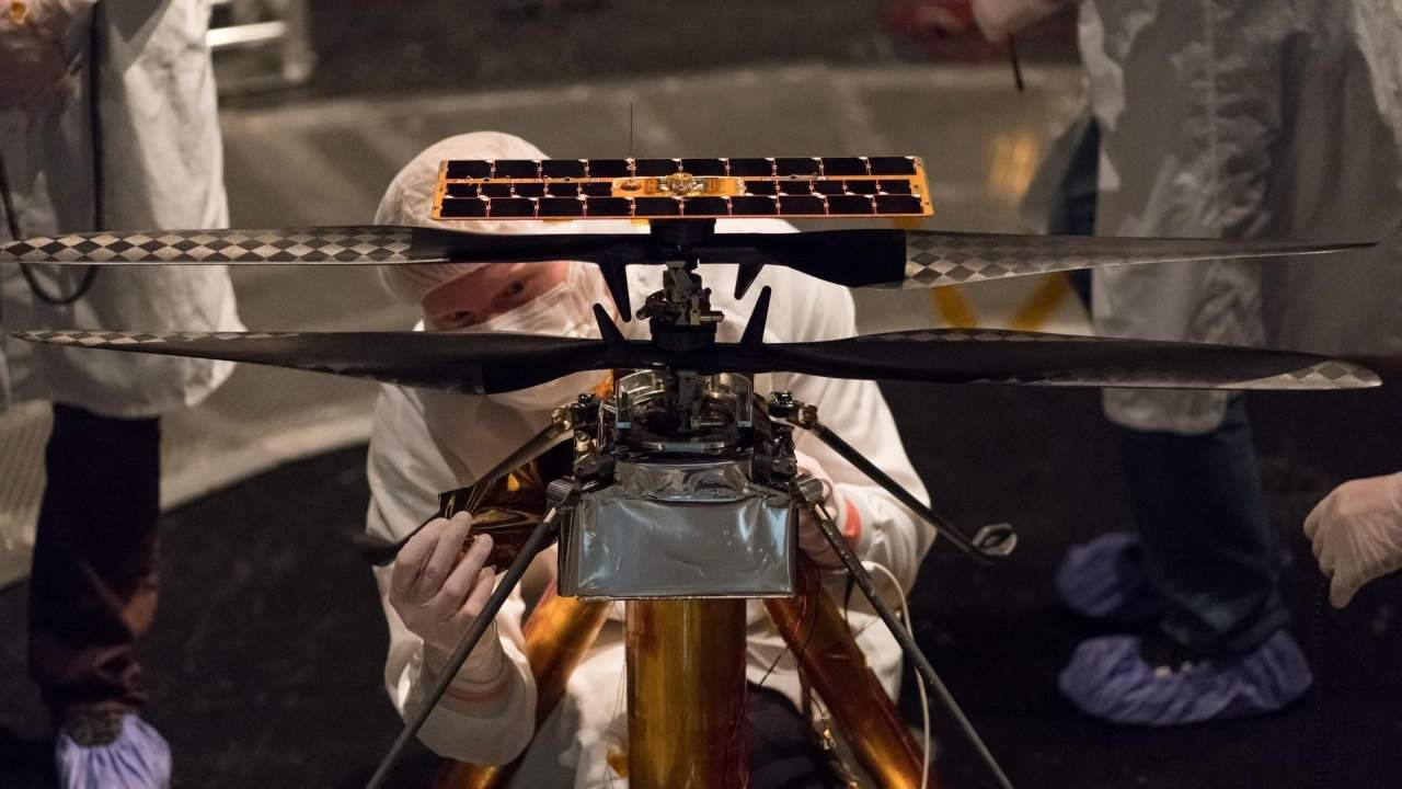 Linux flies on Mars onboard Snapdragon-powered Ingenuity drone