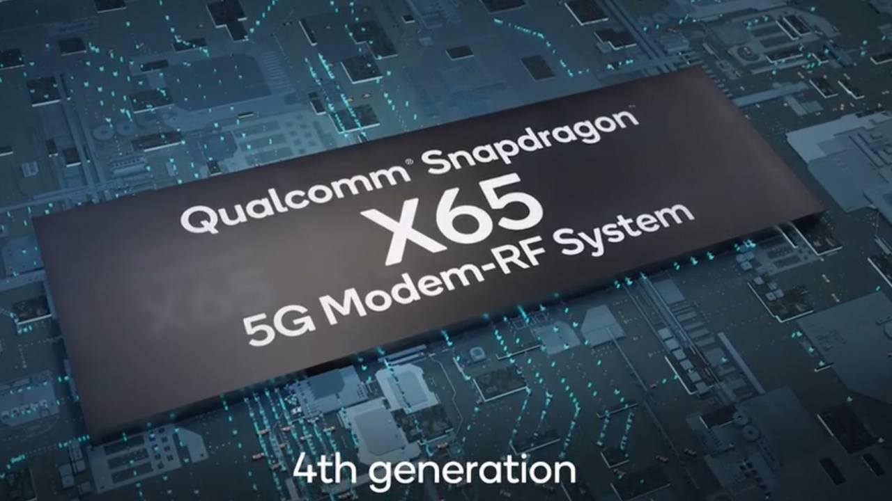 Qualcomm Snapdragon X65 5G modem revealed with support for 10 Gigabit speeds