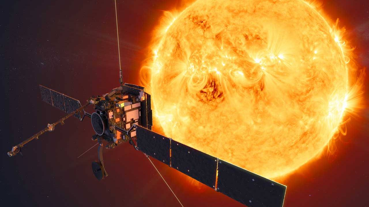 ESA's Solar Orbiter is currently behind the sun