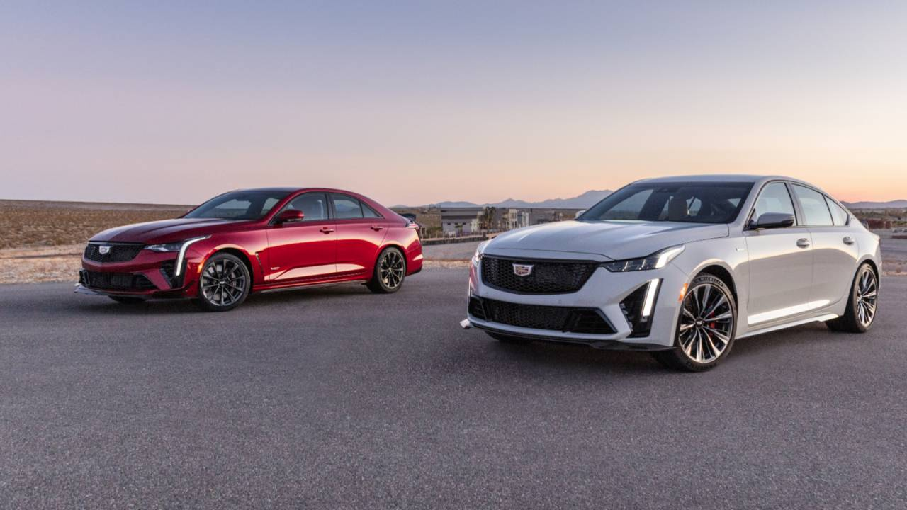 2022 Cadillac CT5-V Blackwing and CT4-V Blackwing Gallery