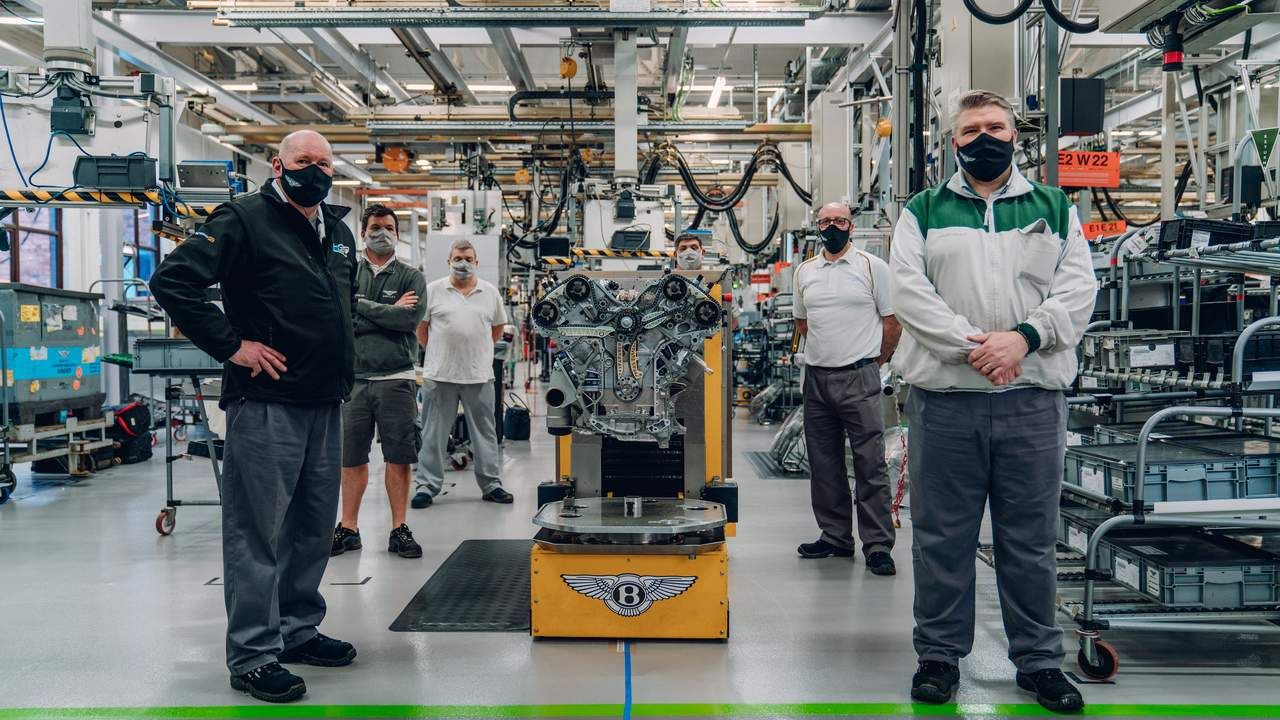 The Bentley Bacalar's W12 engine is the most sophisticated 12-cylinder engine in the world