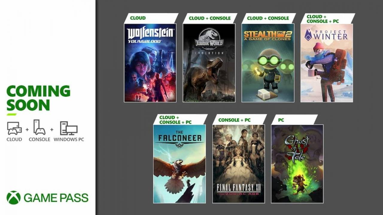 Xbox Game Pass serves up Final Fantasy XII, Jurassic World Evolution in February