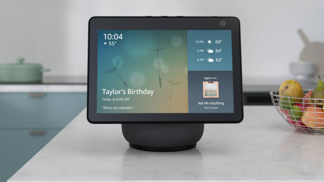 Amazon wall-mounted Echo touchscreen tipped as your smart home hub