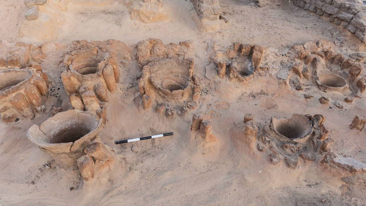 Archaeologists discover a 5000-year-old industrial-scale brewery in Egypt