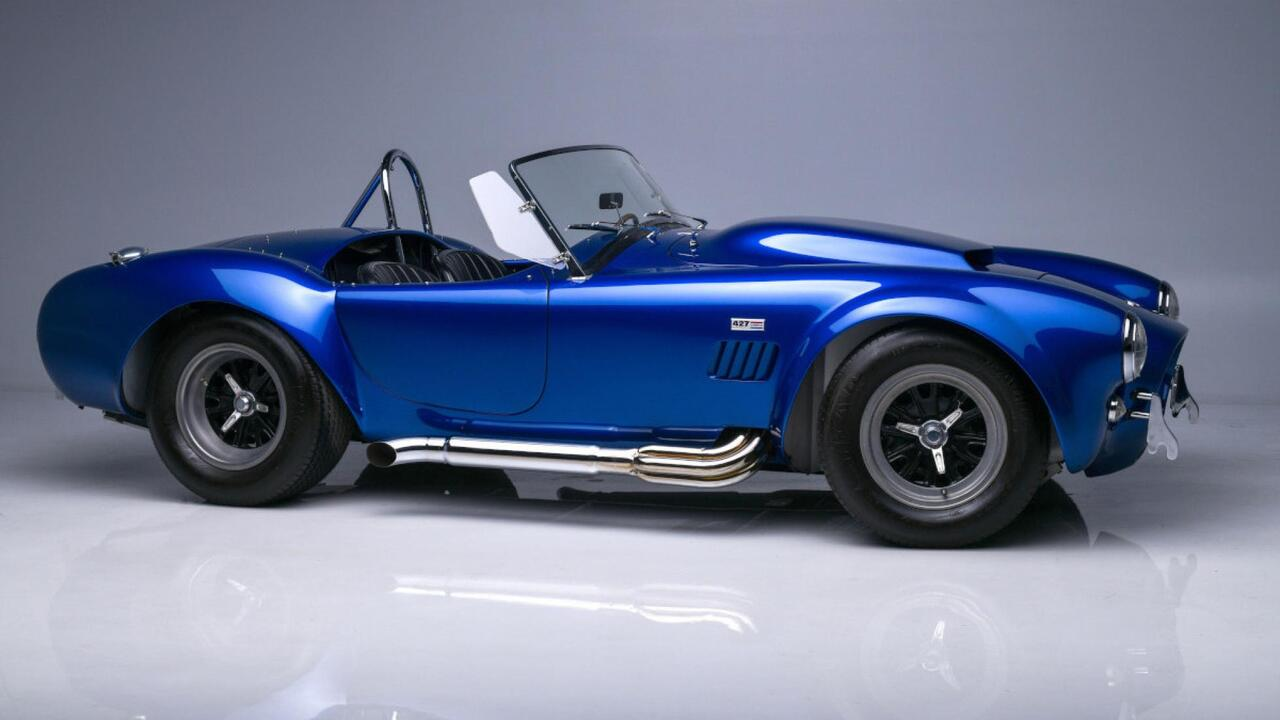 Carroll Shelby's personal 1966 Cobra 427 Super Snake is going to auction (again!)
