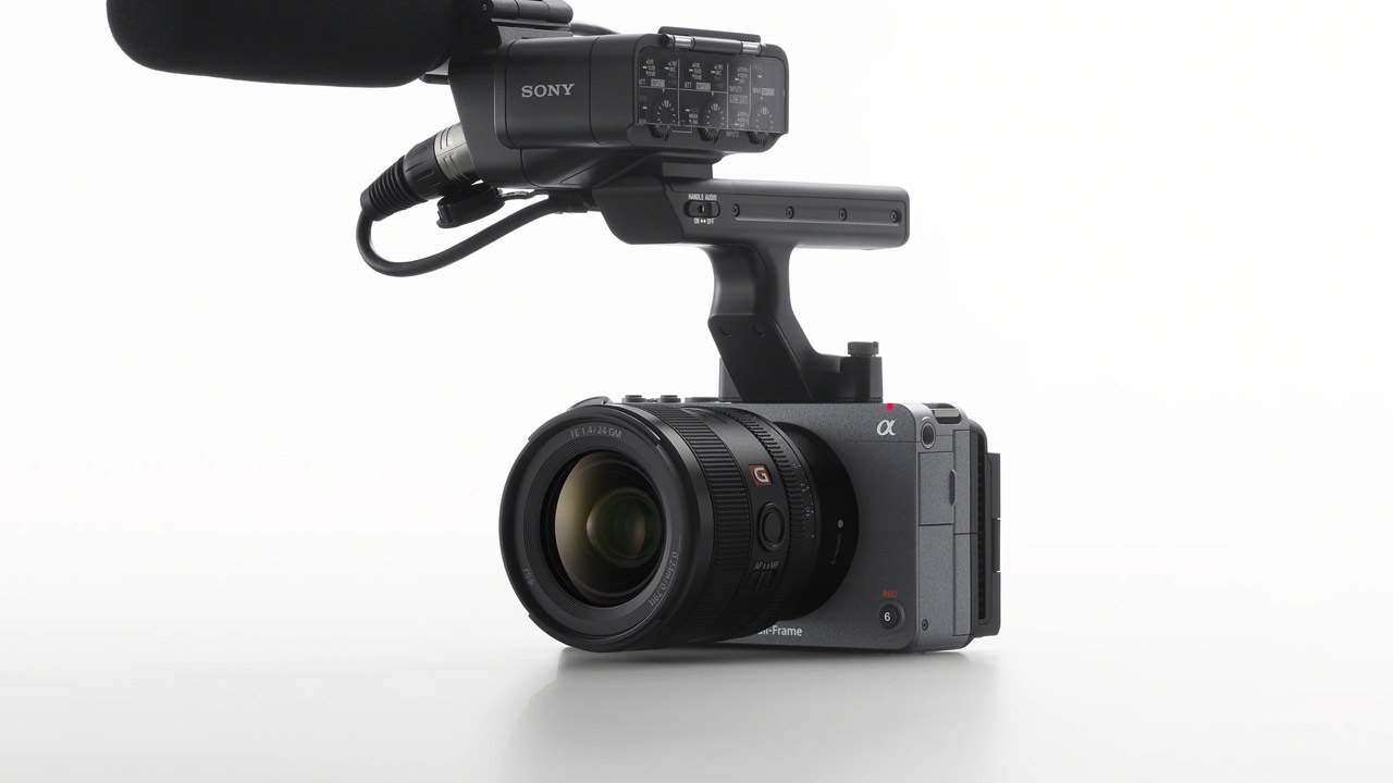 Sony FX3 released with Alpha features and cinema line power