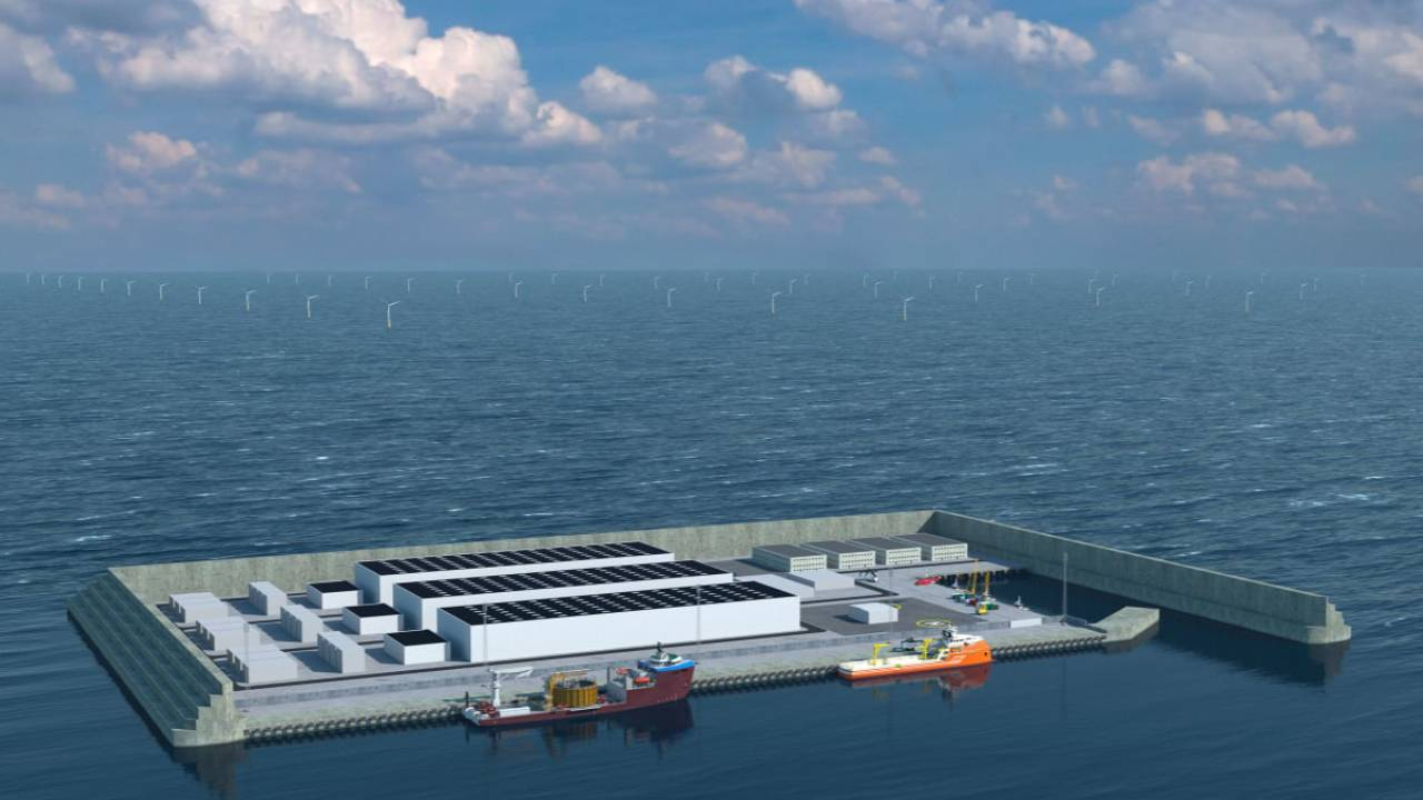 """Denmark reveals audacious artificial """"energy island"""" to replace gas and oil"""
