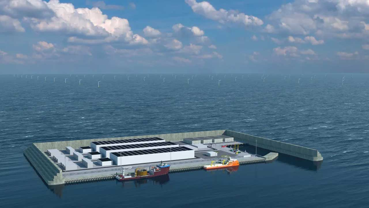 Denmark to construct an energy hub in the North Sea