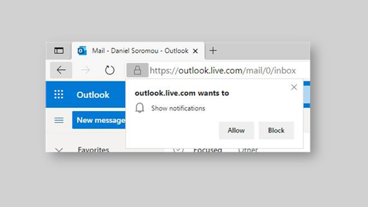 Microsoft Edge crowdsources which notification requests to silence