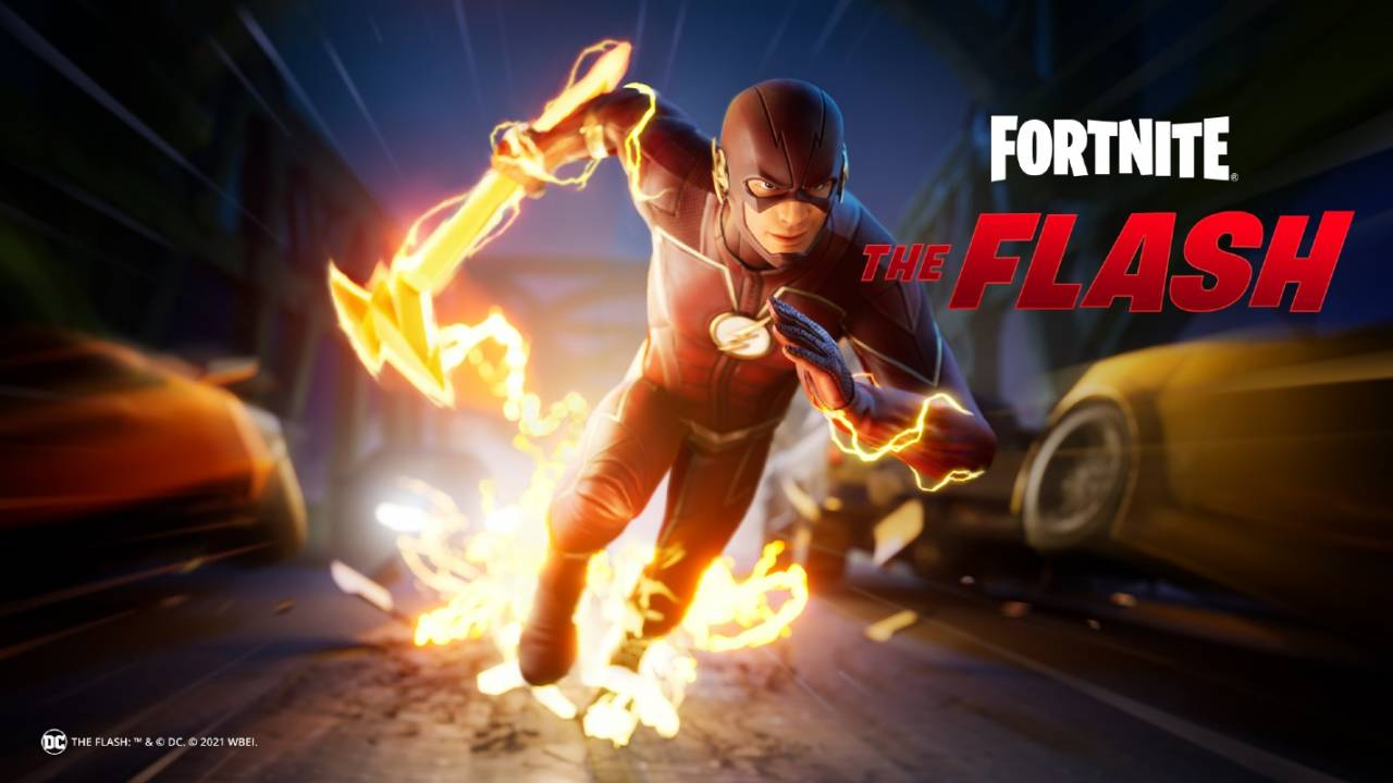 Fortnite's The Flash skin bundle finally hits the Item Shop