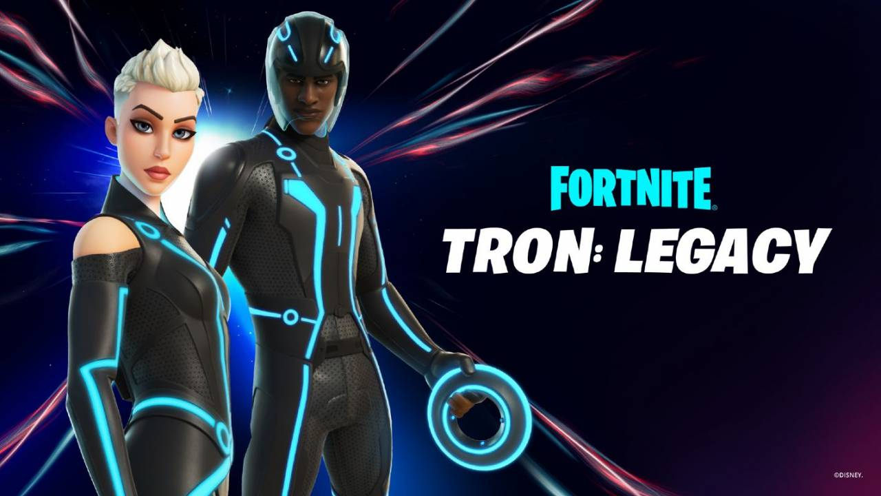 Fortnite TRON: Legacy skins revealed: See the End of Line collection