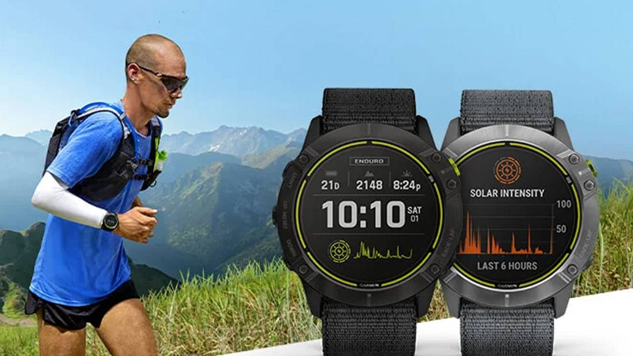Garmin Enduro smartwatch aims at endurance athletes