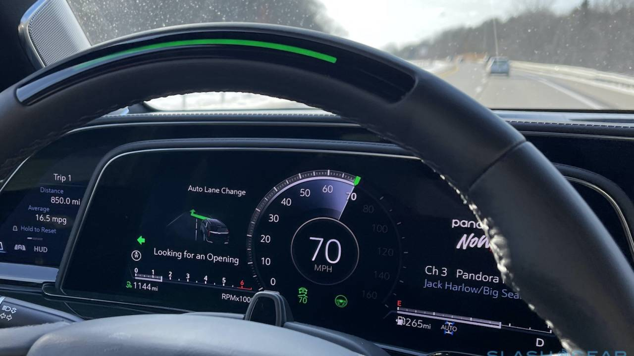 GM Enhanced Super Cruise Review: Hands-free driving adds auto lane-change