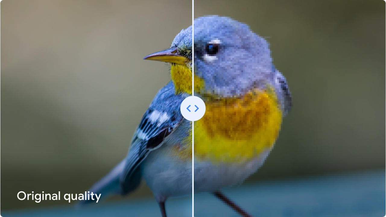 Google Photos High Quality might not be near-identical to original