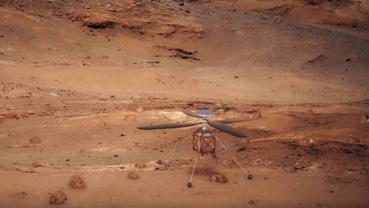 With Perseverance's successful landing, NASA now has a helicopter on Mars