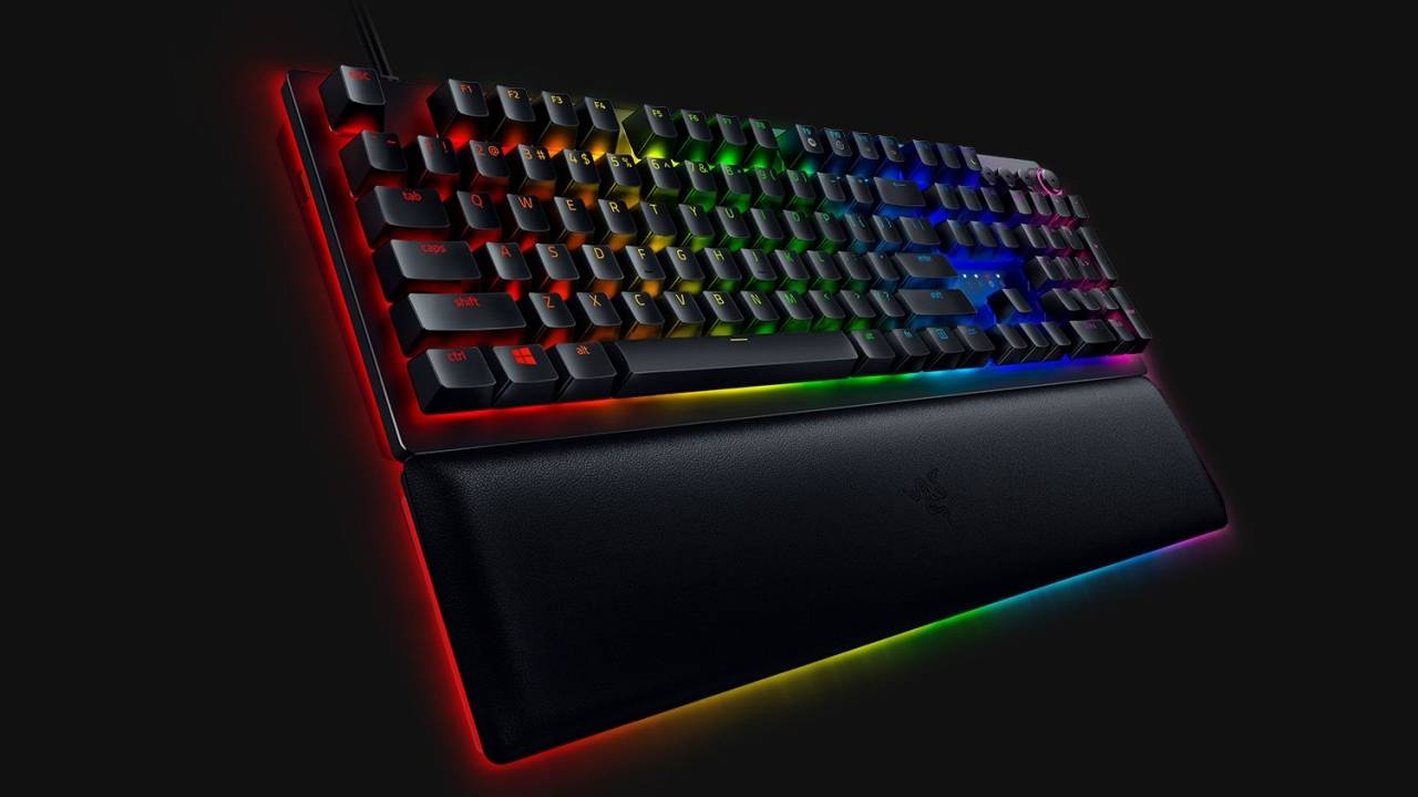 Razer Huntsman V2 Analog keyboard offers customizable dual-step actuation