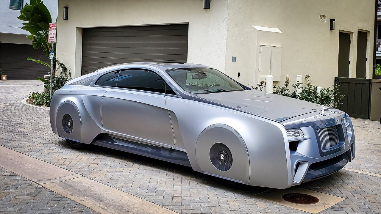 Justin Bieber's Rolls Royce Wraith by West Coast Customs: Oddly desirable