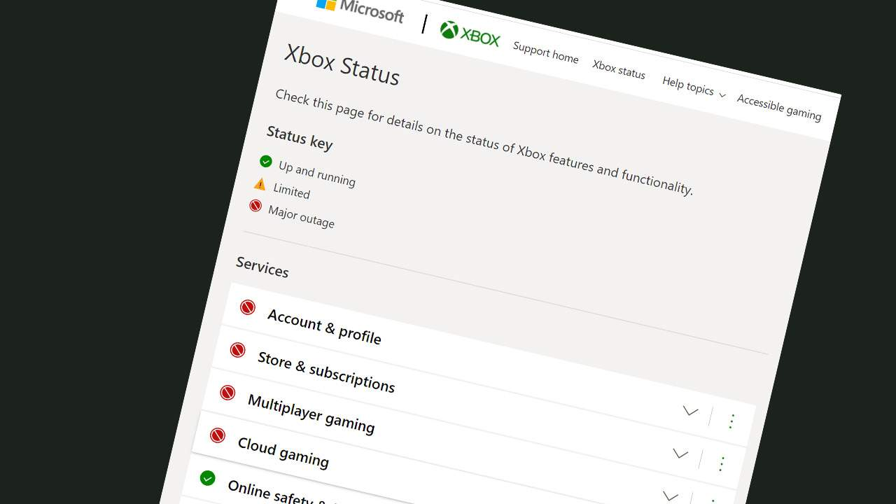 Xbox Live outage in the cloud: It's not just you