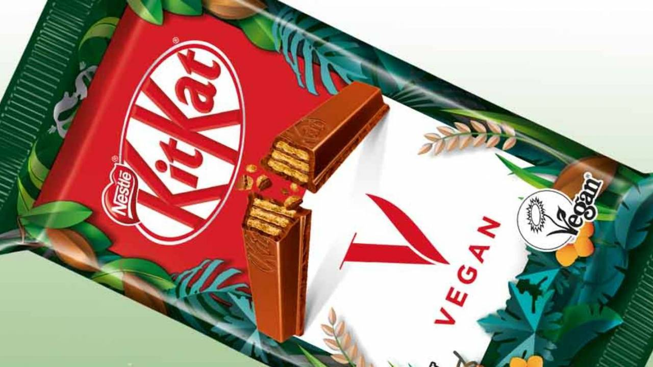 Nestle expands plant-based products with new vegan KitKat bar
