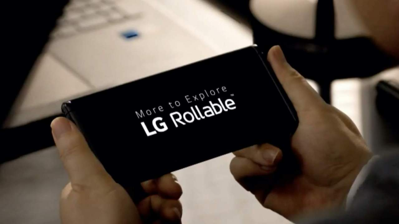 LG Rollable phone fate not yet decided, company says