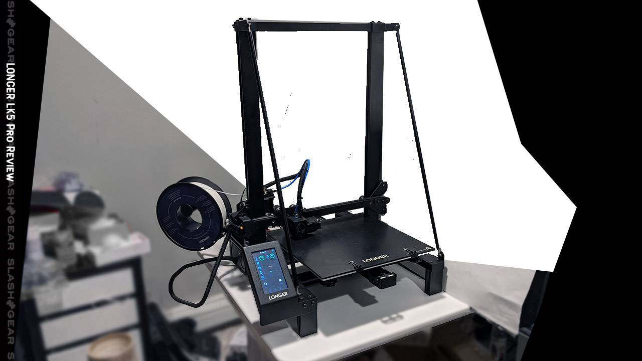 LONGER LK5 Pro Review – 3D printer for prototyping with a little fiddling