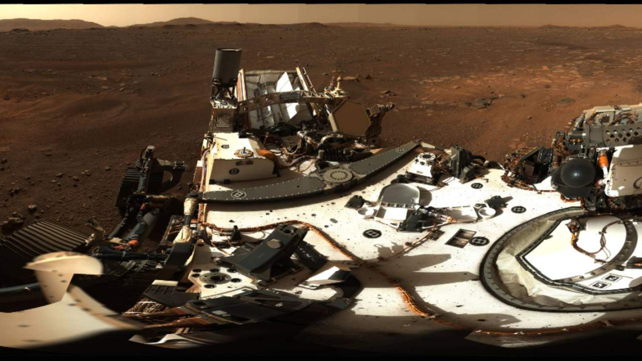 NASA shares Perseverance's first high-definition Mars panorama