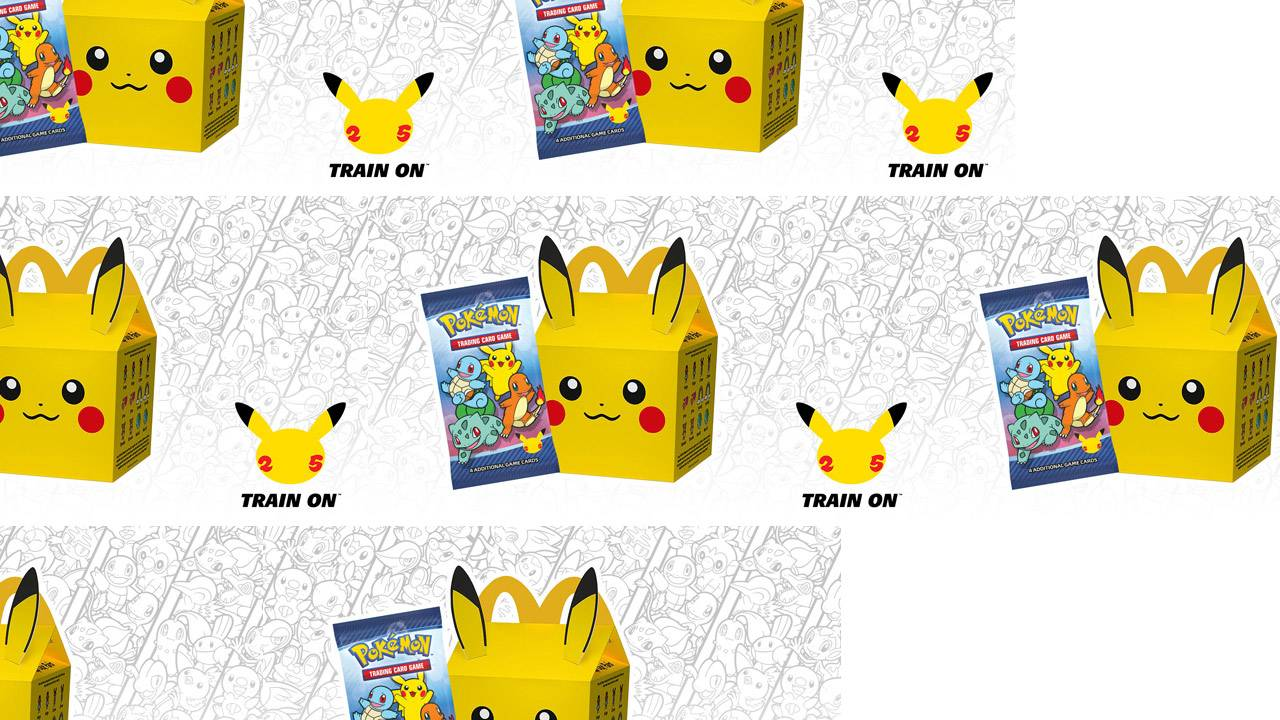McDonalds has Pokemon TCG card packs, if you're lucky