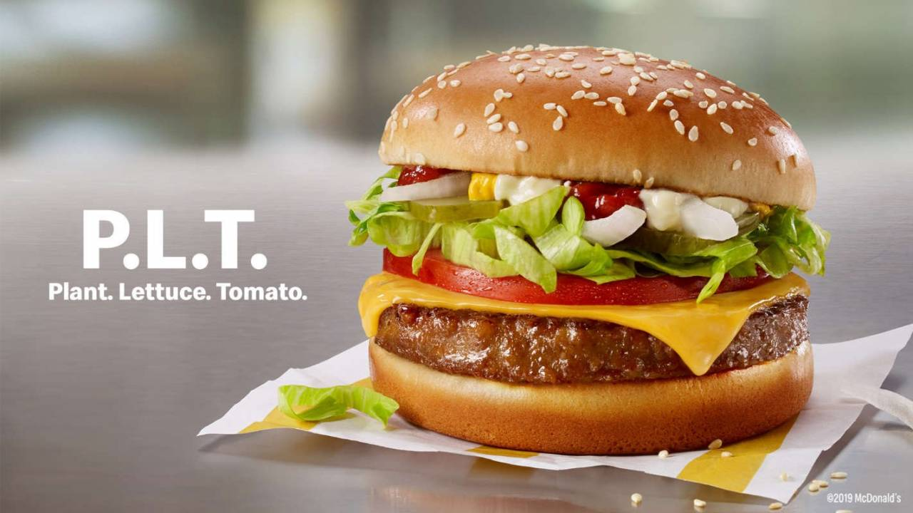McDonald's McPlant burger arrives, but you probably can't get it yet