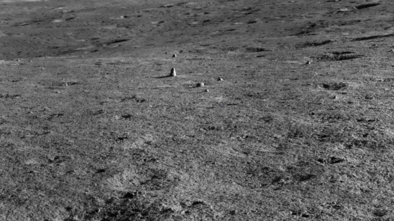 Chinese lunar rover discovers a strange rock on the moon