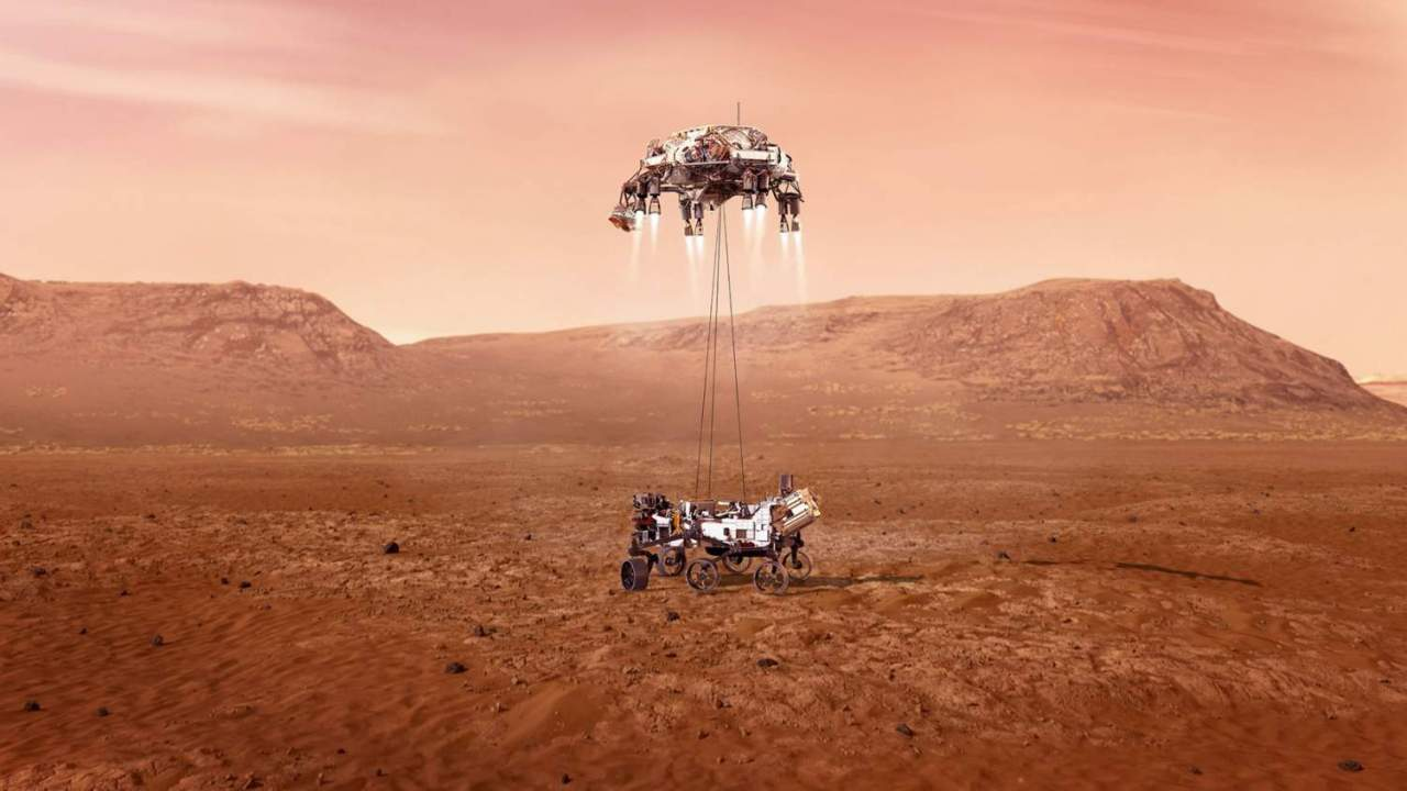 NASA will reveal the mindblowing Mars Perseverance rover landing video today
